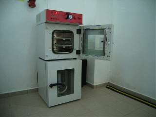 BINDER vacuum drying oven